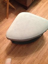 Small grey ottoman in Fort Campbell, Kentucky