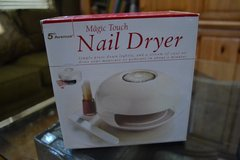 Magic Touch Nail Dryer (NEW) in box in Joliet, Illinois