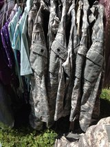 Small military uniforms in Fort Campbell, Kentucky