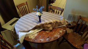 Solid wood table and 4 chairs in Lawton, Oklahoma
