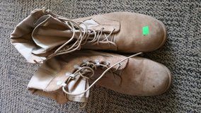 Boots in Fort Drum, New York