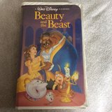 Walt Disney Classic Beauty and the Beast VHS in Naperville, Illinois