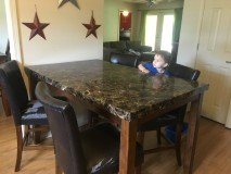 Ashley Counter Height Dining table in Fort Rucker, Alabama