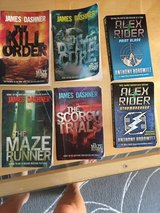 Maze Runner Series/ Alex rider in DeKalb, Illinois