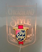 Old Style Beer Sign - Chicagoland in Tinley Park, Illinois
