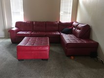 Sectional with ottoman in Fort Bliss, Texas