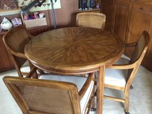 Game table with 4 chairs in Brookfield, Wisconsin