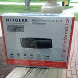 NEW NetGear N600 Wireless DualBand USB Adaptor in Oswego, Illinois