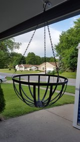 Metal Hanging Flower Baskets  (Set of 4) in Bartlett, Illinois