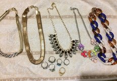 Necklace and ring lot in Okinawa, Japan