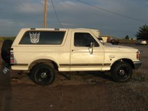 1987 ford bronco xlt 4x4 in Alamogordo, New Mexico