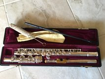 Silver flute with gold plated headjoint--beautiful! in Houston, Texas