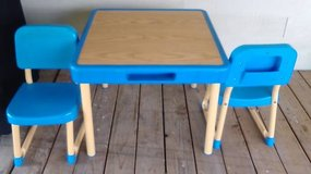 Fisher Price kids activity table and chairs from 1985' in Baytown, Texas