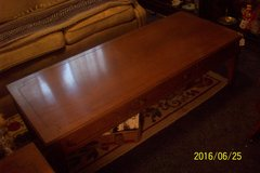 "Traditional Coffee Table and 2 end tables.  Coffee table 48"", Tables 21"" x 21"" in Goldsboro, North Carolina"