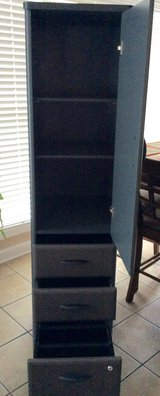 2- Bush Series A Vertical Locker Bookcase - Slate in Fort Campbell, Kentucky