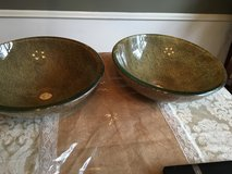 Set of two vessel sinks in The Woodlands, Texas