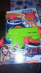 mini soaker gun and games in Yucca Valley, California