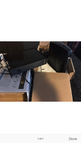 Modem and wireless router, like new in Hill AFB, UT
