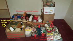 Crochet & other Crafts supplies in Baytown, Texas