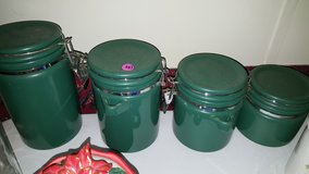 Green Canister Set in Baytown, Texas