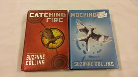 Catching Fire and Mockingjay Hardback Books in 29 Palms, California