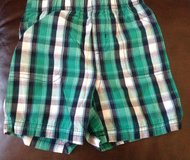 Baby/Toddler boys Carter's checkered (green, black & white) shorts size 18 months in Macon, Georgia