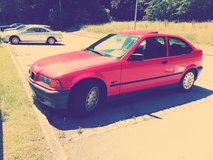 BMW   ( red ) in good condition       (washed & waxed !) -HOHENFELS- in Hohenfels, Germany