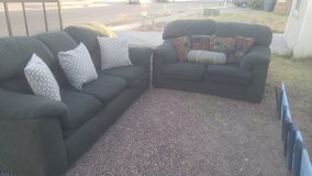 Sofa and love seat in Fort Bliss, Texas
