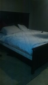King size bed set /pillow top mattress in Biloxi, Mississippi