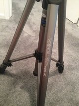 Vanguard Aluminum Video Camera Tripod 20-08-58 with Carrying Case in Los Angeles, California