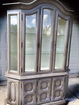Refinished China Cabinet in Naperville, Illinois