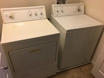 Kenmore Washer and dryer in Tacoma, Washington