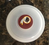 Chip & Salas NFL Washington RedSkins dish in Fort Campbell, Kentucky