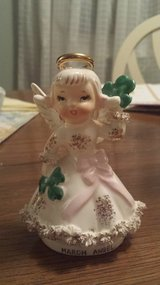 "Vintage 4.5"" Napco (Japan) MARCH BIRTHDAY Angel Figurine in Batavia, Illinois"