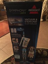 BISSELL Symphony Pet All-in-One Vacuum and Steam Mop in Baytown, Texas