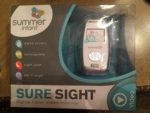 Summer Infant 29030 Sure Sight Digital Color Video Camera monitor  Brand New in Baytown, Texas