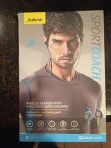 JABRA - Sport Coach Wireless Sports Earbuds - Blue Brand new in Baytown, Texas