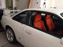 Orange s15 Silvia seats in Camp Humphreys, South Korea