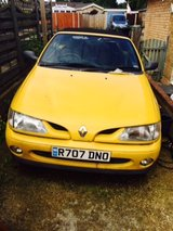 Renault Megan in Lakenheath, UK