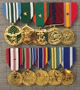 Military Medals done professionally in 29 Palms, California