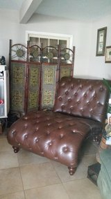 Brown Chaise Lounge in Eglin AFB, Florida