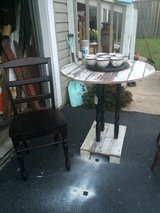 Barn wood table and Chair in Naperville, Illinois