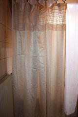 Lace cream Shower Curtain in Ramstein, Germany