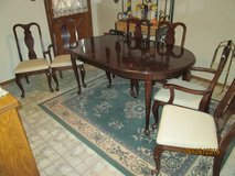DINING TABLE w/6 CHAIRS in Alamogordo, New Mexico