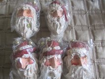 5 Santa Ornaments in Aurora, Illinois
