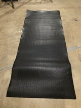 Rubber mat for under gym equipment in New Lenox, Illinois