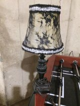 Small table lamp with shade in New Lenox, Illinois
