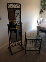 Mirror and matching end table in Fort Leonard Wood, Missouri