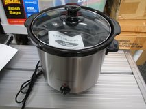 3.5Qt. Stainless Steel Slow Cooker (Cook's Essential) Model 99230 $25. in Beaufort, South Carolina