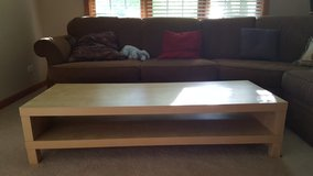 Large Solid Pine contemporary coffee table! in Naperville, Illinois